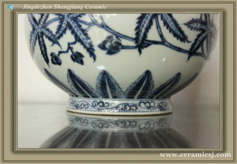 WRYWB10 Ming dynasty B & W Vase