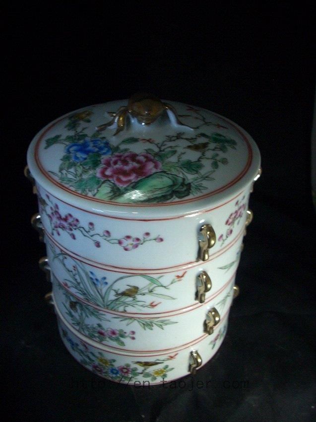 WRYFH05 Famille ceramic snack box