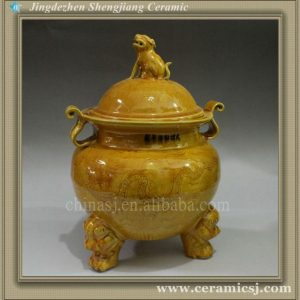 RYJN07 Chinese Ming dynasty reproduction Porcelain Jar