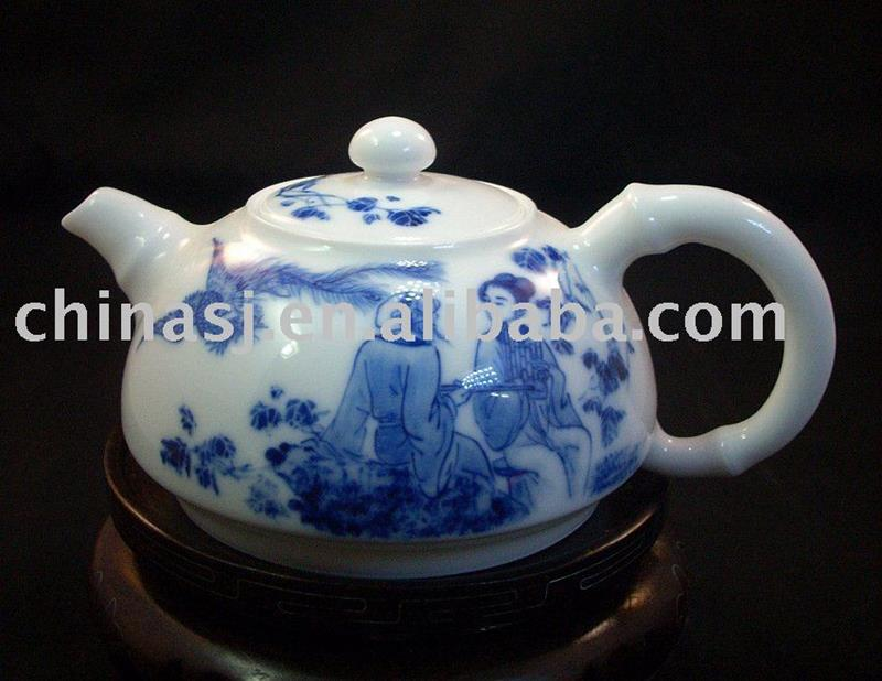 Blue and White Porcelain Tea Pot RYFU05
