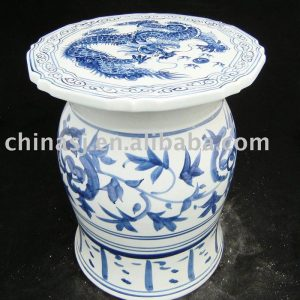 Chinese dragon outdoor stool WRYAZ227