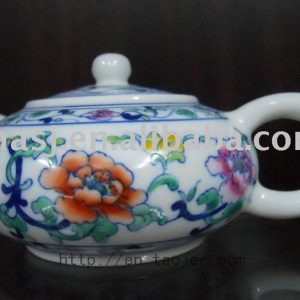 Porcelain Tea Pot with High Quality RYG83