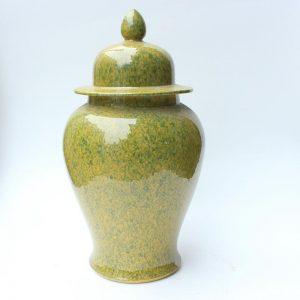 RYDB46 16.5inch Ceramic Plain Ginger Jar