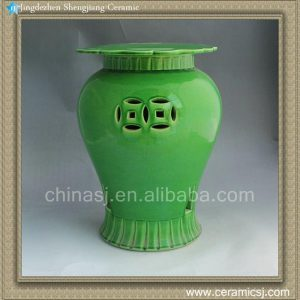 RYNQ01 14inch Ceramic Garden Stool