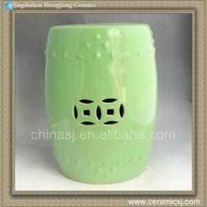 RYNQ62 17inch Ceramic Outdoor Stool