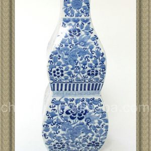 RYQQ13 16inch Hand painted Blue White Ceramic Vase