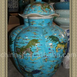 RYQQ29 27.5inch Qing dynasty reproduction Ceramic Jar