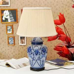 TYLP44 Chinese Blue and white Table Lamp