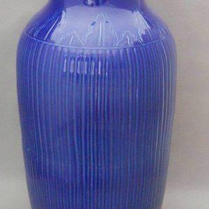 RYMA16 22 inch Blue Ceramic Vase