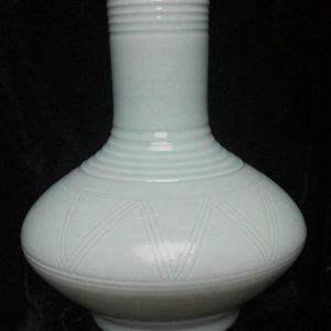 RYMA44 16 inch Celadon Porcelain Vase