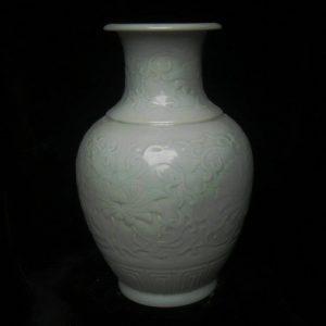 RYMA47 14 inch Hand made Celadon Flower Vase