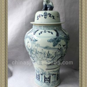 RYWY01 88cm tall Blue and White Big Jar