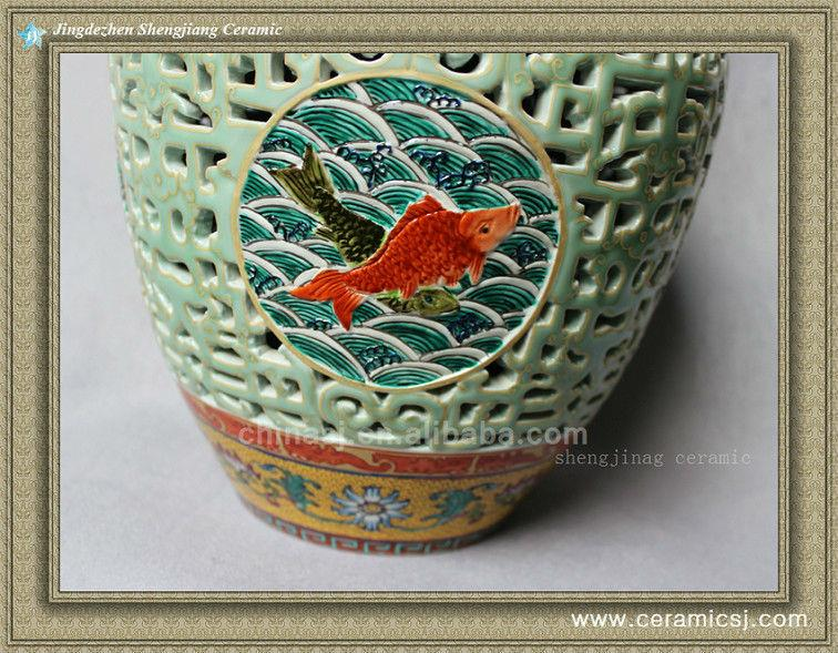 RYLW08 Antique Reproduction Chinese ceramic vase