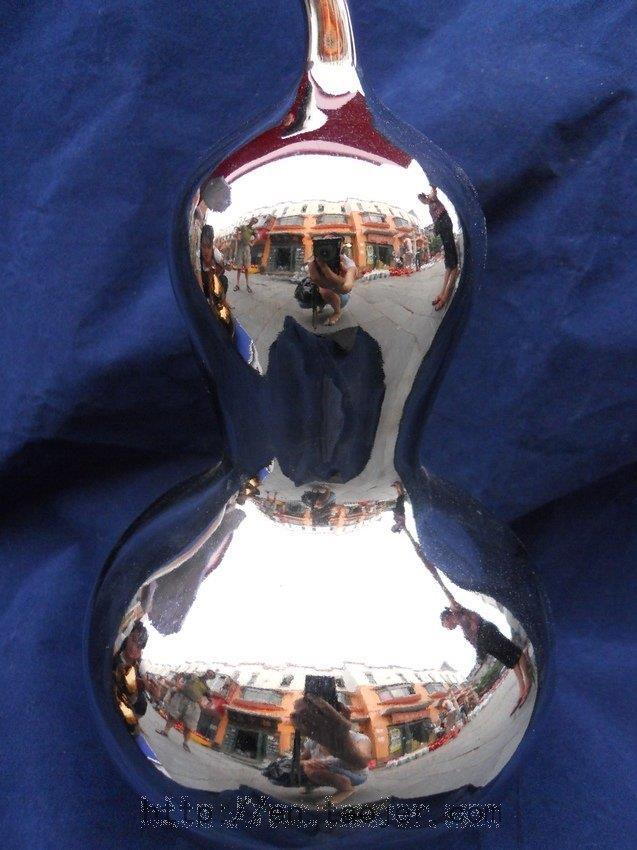 Silver Porcelain vase WRYAZ238