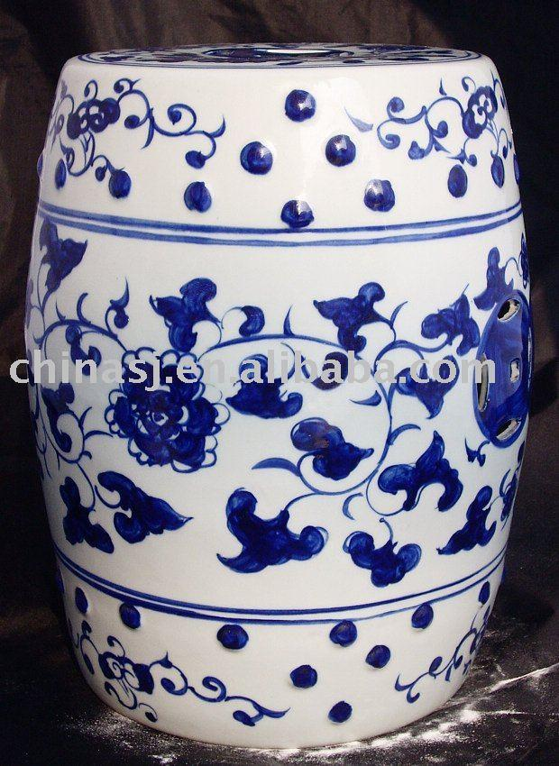 WRYAY203 Hand Painted Blue And White Ceramic Garden Stool With Beautiful  Design | Jingdezhen Shengjiang Ceramic Co., Ltd.::jingdezhen Hand Painted  Ceramics ...