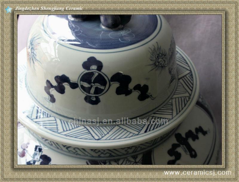 RYWY01 88cm tall Blue and White Big Jar