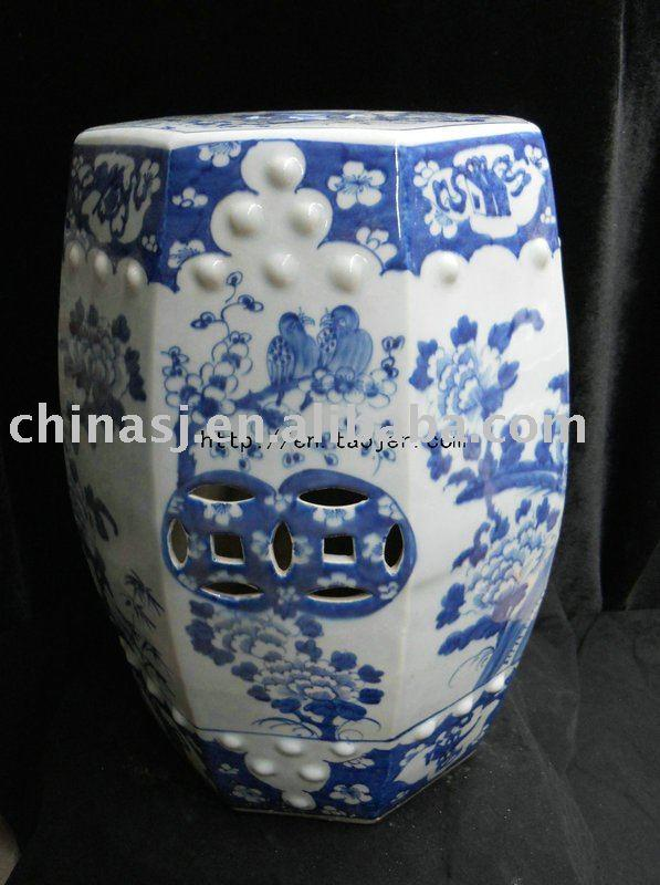 WRYLU01 Chinese Blue And White Ceramic Garden Stool | Jingdezhen Shengjiang  Ceramic Co., Ltd.::jingdezhen Hand Painted Ceramics Porcelain