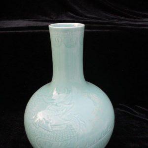 WRYKX10 Chinese celadon porcelain vase