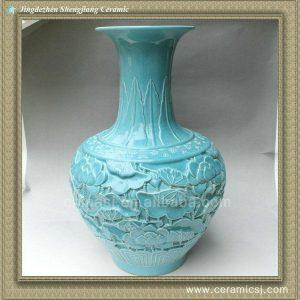 RYSX08 hand carved chinese ceramic vase