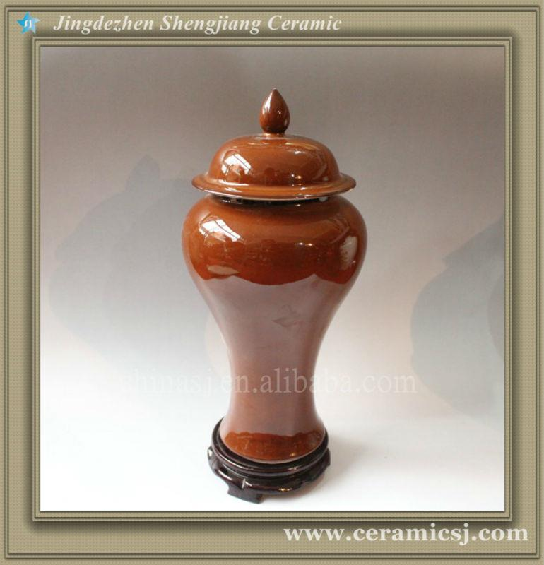 RYVZ07 jingdezhen ceramic wholesale jar with lid