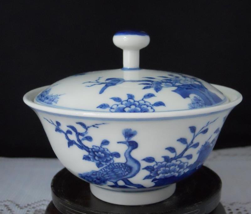 porcelain bird's nest pot RYZ74