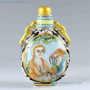RZCH05 Ceramic Snuff Bottle