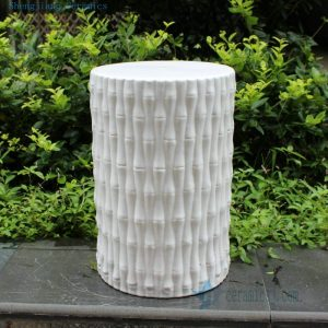RYIR105 Bamboo Ceramic Stool