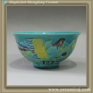RYJN03 oriental blue antique ceramic bowl