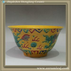 RYJN04 oriental blue antique ceramic bowl