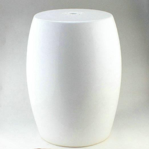 Rytp03 19 garden furniture for sale plain white ceramic for White garden stool