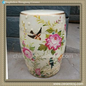 RYZS04 Floral gardenfurniture Stool