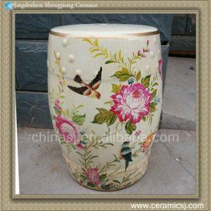 RYZS04 Floral gardenfurniture Stool