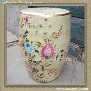 """RYZS08 18"""" Flower bird porcelain Barstools"""