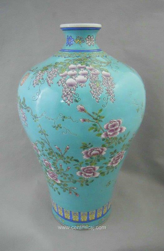 RYRK03 Chinese Qing Dynasty antique Porcelain Vase