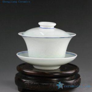 Chinese Porcelain Gaiwan Tea Cups