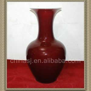 RZAX04 33inch Chinese Red Ox Blood Vase