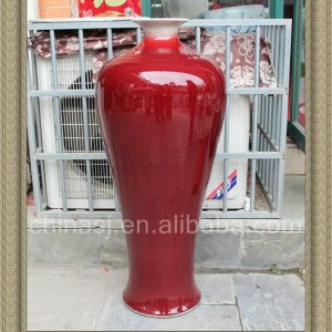 RZAX07 42inch Chinese Ox Blood Red Vases