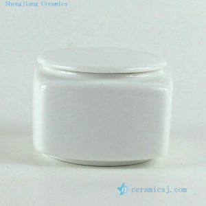 "RYKD22 H2"" jingdezhen white porcelain Tea Jar"