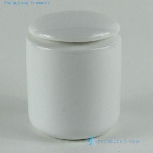 "RYKD23 H3.5"" jingdezhen white porcelain Tea Jar"