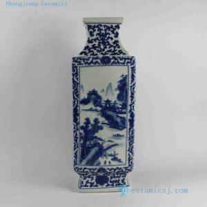 RYJF22-RYJF29 Chinese Blue White Vases