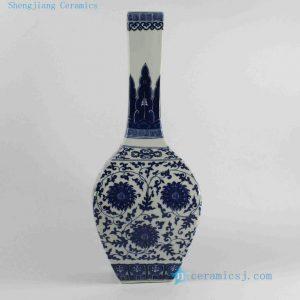RYJF30-RYJF37 Chinese Blue White Asian Vases