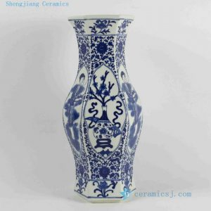 RYJF46-RYJF54 Blue White chinese porcelain vase