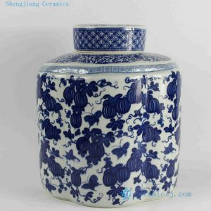 "RYJF52 H11.5"" wholesale Porcelain wedding candy jars"