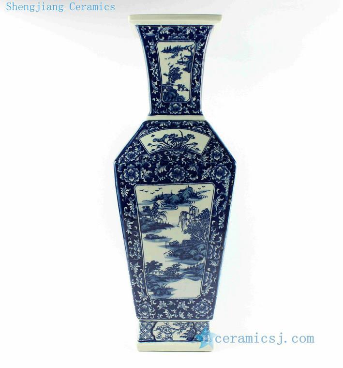 Rytm29 21 Wholesale Blue And White Flower Vases Jingdezhen
