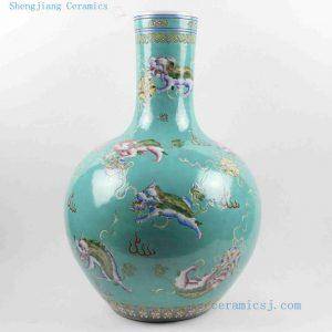 "RYRK17 22"" Hand painted Jingdezhen Porcelain Vases"