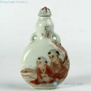 Wholesale Hand made Chinese Jingdezhen snuff bottles