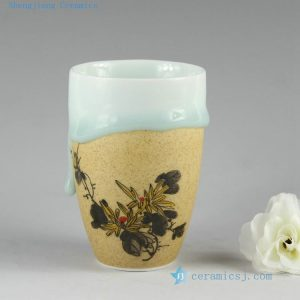 2I02 Hand made porcelain Mug