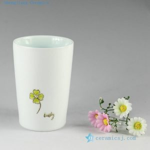2J01 h12cm Hand made porcelain Mug