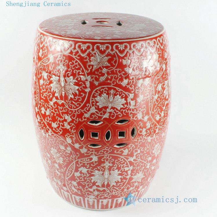 Multi Colored stool | Jingdezhen Shengjiang Ceramic Co ...
