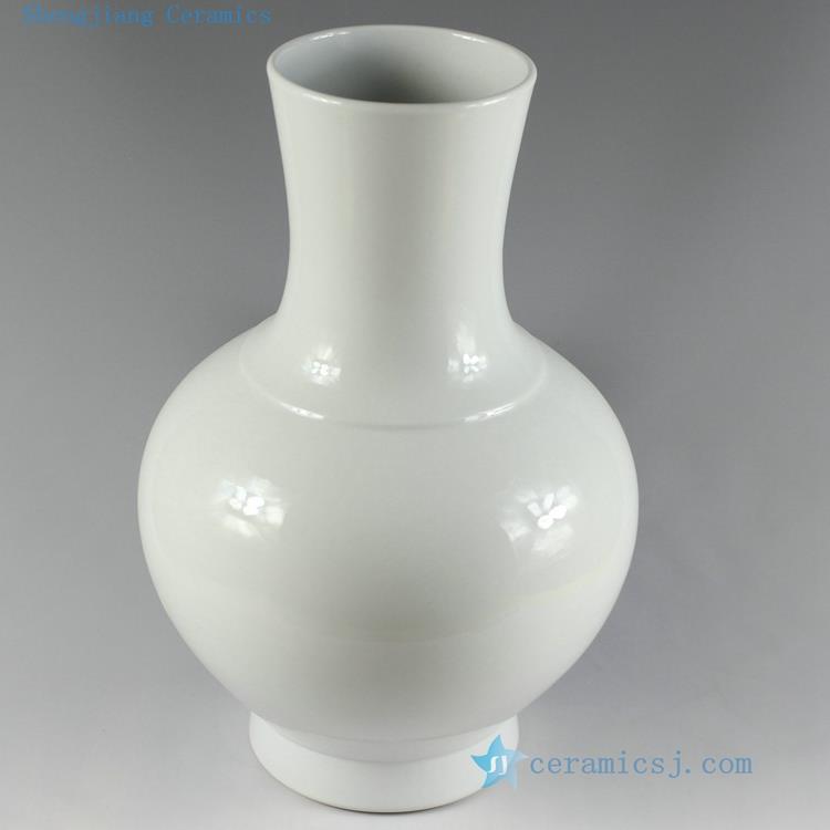 Rynq119 13 4inch Modern Plain Ceramic Vases Jingdezhen